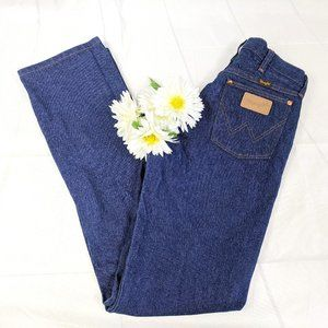 Vintage Wrangler 90s Cowboy Cut Jeans SZ 23 x 36